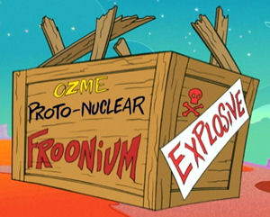 Case in point. Froonium isn't proto-nuclear.