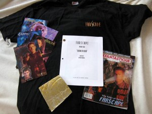"Farscape Auction Items for ""Con or Bust"""
