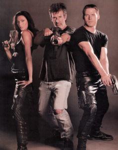 Claudia, Andrew, and Ben posing.